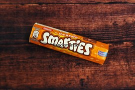 Конфеты Smarties Orange limited edition