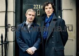 Постер Шерлок и Джон
