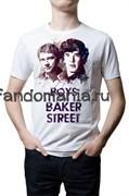 """Футболка """"Boys from Backer Street"""" (Шерлок)"""